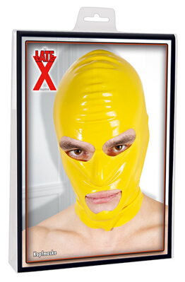 Maska Latex žlutá 050