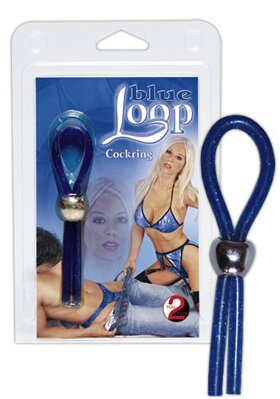 "Cockring ""Blue Loop"""