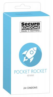 "Kondómy ""Pocket Rocket"" 24ks"