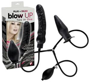 Blow Up Plug und Dildo