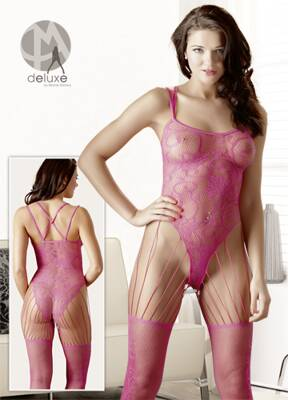 Catsuit pink S-L